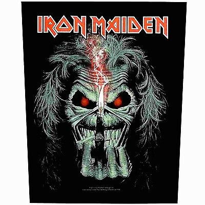 Iron Maiden candle finger Back Patch XLG free worldwide shipping
