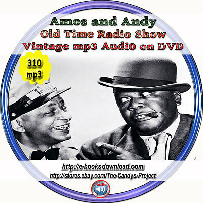 Amos and Andy Old Time Radio Shows Audiobook Funny OTR Mp3 DVD