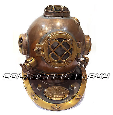 Nautical Marine Antique Vintage Divers Helmet Maritime Navy Replica Collection