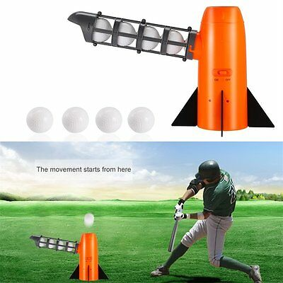 Portable Funny Baseball Automatic Pitching Serving Machine Battery Version LN