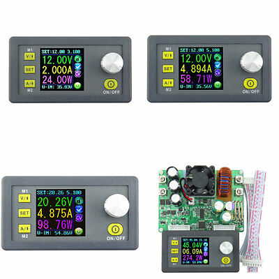Constant Voltage Current Programmable Digital Power Converter LCD Voltmeter