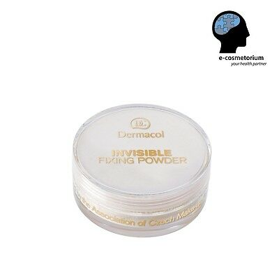 Dermacol Invisible Fixing Powder - Fixing Long Stay Effect - Light/Natural