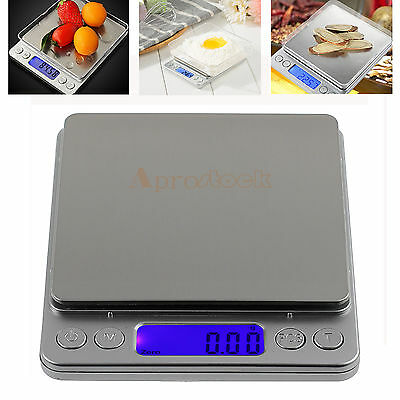 0.01-500g Digital LCD Kitchen Electronic Cooking Food JEWELRY Weighing Scales