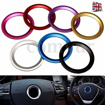 Car Steering Wheel Center Decoration Ring Cover Trim For BMW 1 3 4 5 7 Series UK