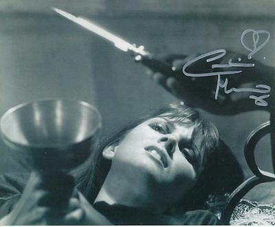 Caroline Munro In Person Signed Photo - Dracula A.D. 1972 - AG89