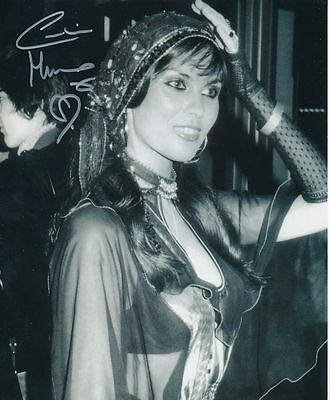 Caroline Munro In Person Signed Photo - GORGEOUS!!!! - AG85