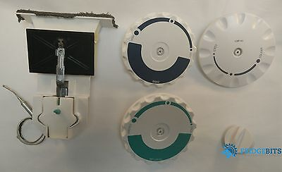 Whirlpool Samsung refrigerator thermostat damper assembly