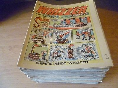 Whizzer and Chips Comics X80  1970/80s