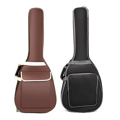 Advanced Waterproof Acoustic Guitar Thicken Padded Soft Case Guitar Bag 40/41""