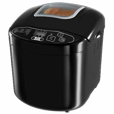 Russell Hobbs Compact Breadmaker for Home Kitchen, 3 Crust, 600W, Black, 23620