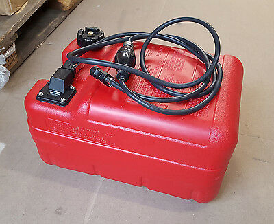 Replacement 24L Outboard Fuel Tank with Gauge and 3m Fuel Line
