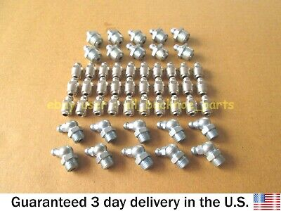 Jcb Backhoe - Grease Nipples Assorted, Pack Of 50 Pcs (Assorted Part No.s)