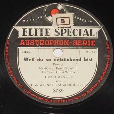 78rpm/Elite Special 8089/HORST WINTER/THEY SAY IT`S WONDERFUL/WEIL DU SO ENTZÜ *