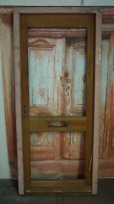 Mod 105 (32 x 78) Victorian Style Reproduction External Wooden Door with Frame