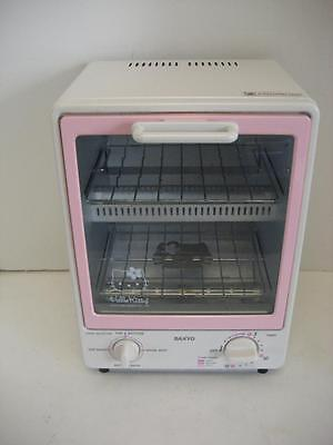 Sanyo Hello Kitty Super Toasty SK-KT7  950W Toaster Oven Rare Collectible- Bagel
