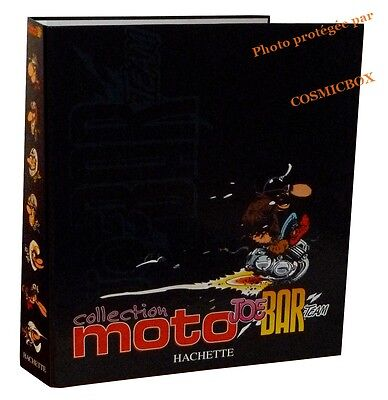 Intégrale n°2 JOE BAR TEAM classeur lot fascicules motos album figurine hachette