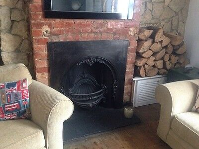 Victorian Style Cast Iron Fireplace Surround Antique Acquisitions London