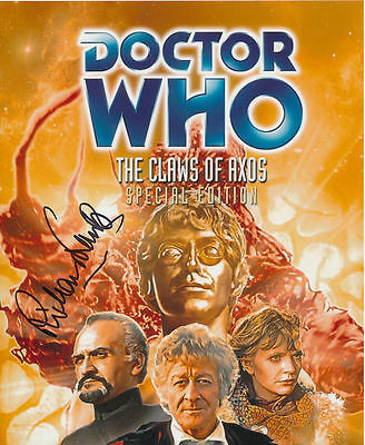 Richard Franklin In Person Signed Poster Photo - Doctor Who - AG132
