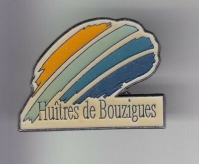 Rare Pins Pin's .. Animal Coquillage Shell Huitre Oyster Thau Bouzigues 34 ~De