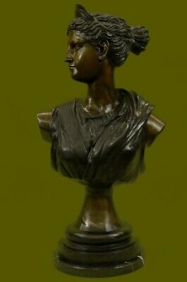 *DEAL** Bronze Sculpture Statue 80 Lbs Huge Cleopatra Queen Of Egypt Egyptian