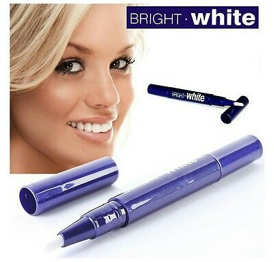 Lot 2 stylo blanchiment dentaire professionnel dent blanche pinceau gel neuf
