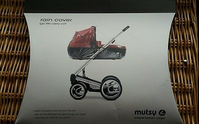 NEW!! Mutsy Igo Lite Carrycot Raincover