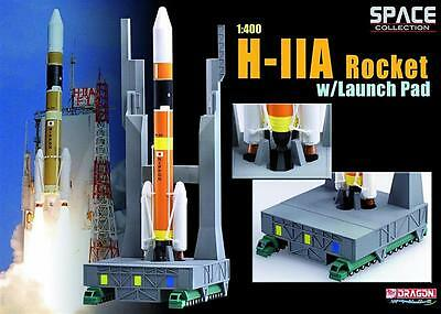1/400 Dragon H-IIA Rocket with Launch Pad