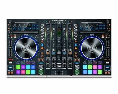 DENON MC 7000 4-Deck DJ controller con 2 audio interfaces
