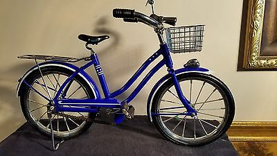 RARE American Girl Doll Bicycle With Basket Molly McIntire Retired, Pleasant Co.