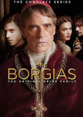 PRE ORDER: THE BORGIAS: THE COMPLETE SERIES (Jeremy Irons) - DVD - Region 1