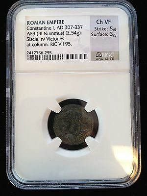 Roman Empire Ad 307-337 Constantine, I Ngc Ancients Ch Vf