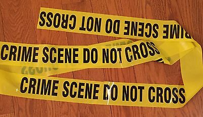 "Crime Scene Do Not Cross Tape 50 Feet 3"" Wide Csi Fbi Police Tape"