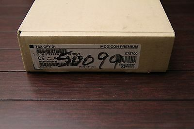 Schneider Electric Tsxcfy21 Plc Stepper Motor Controller New In Box