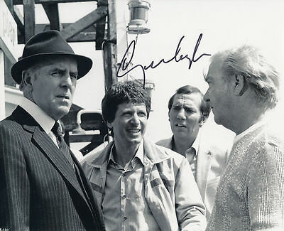 George Layton In Person Signed Photo - Minder - AG170