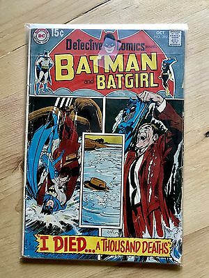BATMAN AND BATGIRL #392 (Silver Age Rare Comic Book)