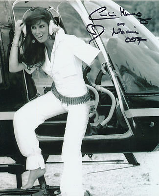Caroline Munro In Person Signed Photo - James Bond - AG177