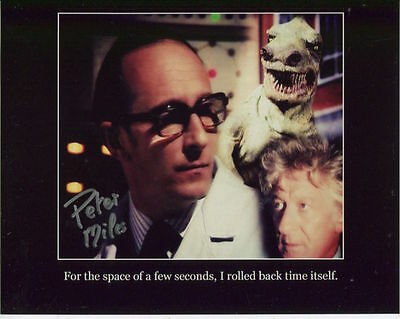 Peter Miles In Person Signed Photo - Doctor Who - AG172