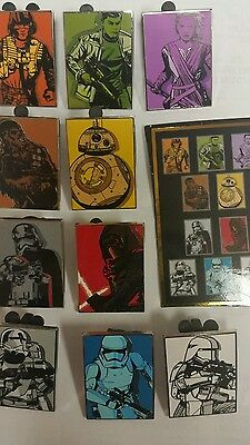 Disney * STAR WARS - THE FORCE AWAKENS * New COMPLETE Set Of 10