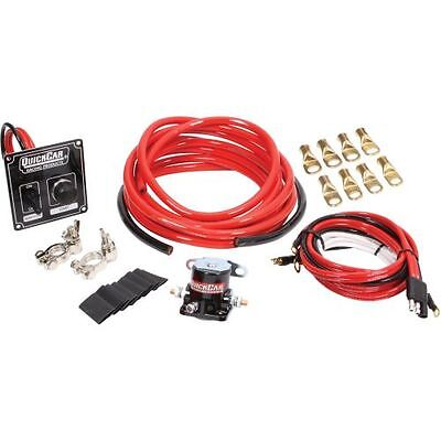 Quickcar Racing Products 50-836 Heavy Duty Ignition/Battery Wiring Kit 4 Gauge