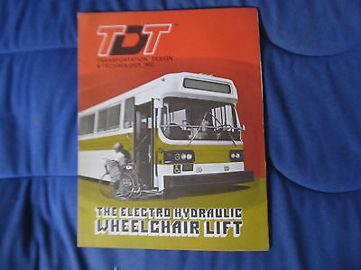 TDT Hydraulic  lift brochure