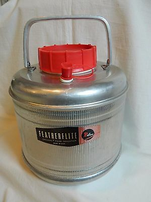 Vintage Featherflite Poloron Gallon Picnic Insulated Thermos