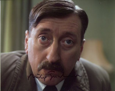 Philip Jackson In Person Signed Photo - Poirot - AG189
