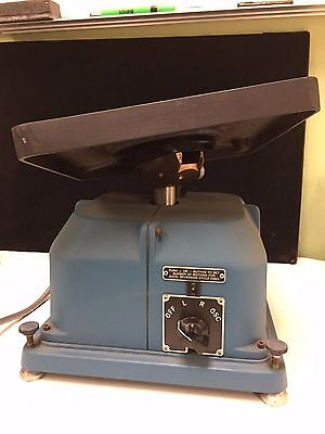 Ideal-Aerosmith Electric Gyro Instrument Tilting Test Table Model 1412Be