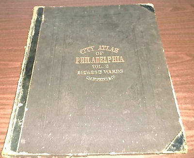 City Atlas of Philadelphia, Vol. 2, 21st and 28th Wards (G. M. Hopkins, 1875)