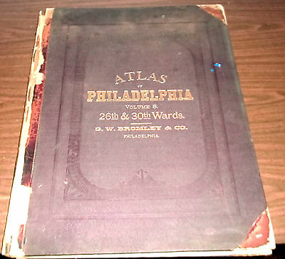 Atlas of the City of Philadelphia (South), 26th & 30th Wards, 1889