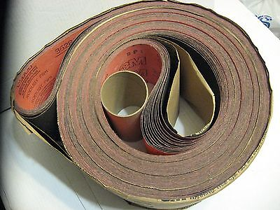 12 Sanding Belts 6 Inch Wide by 294 Inch Long 150 Grit Top Quality 3M XODUST