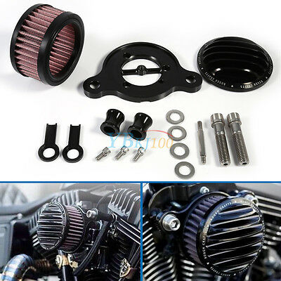 Motorcycle Air Cleaner Intake Filter For Harley Sportster XL 883 1200 2004-2015
