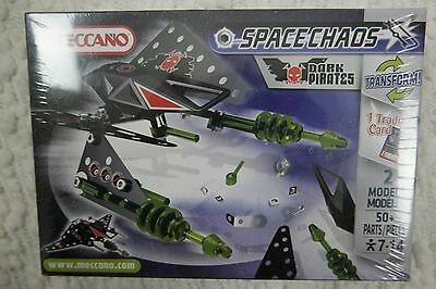 """MECCANO """"Dark Pirates"""" Space Chaos 2010 BRAND NEW, FACTORY SEALED"""
