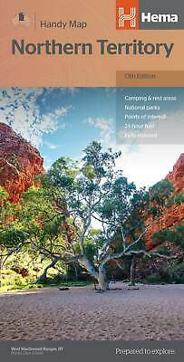 Hema Northern Territory Handy Map 12Th Edition - National Parks- Camping