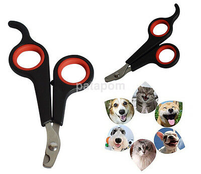 High Quality Black Nail Grooming Clippers Toe Trimmer Scissors Tool for Pet US